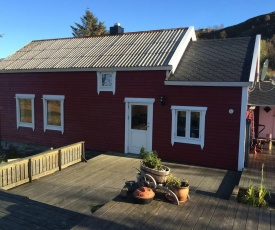 Old fisherman's house in Lofoten