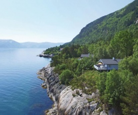 Three-Bedroom Holiday Home in Lavik