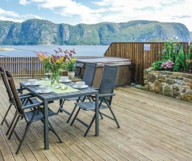 Holiday home Farsund 78 with Hot tub