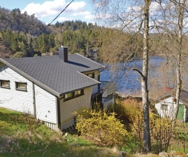 Four-Bedroom Holiday Home in Mandal